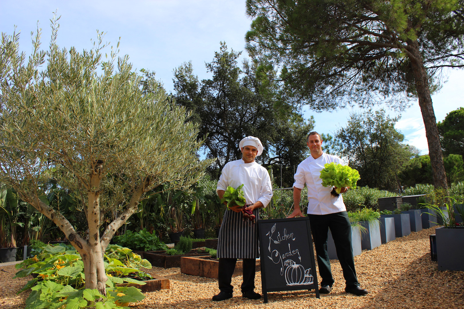 Kitchen Garden do Conrad Algarve