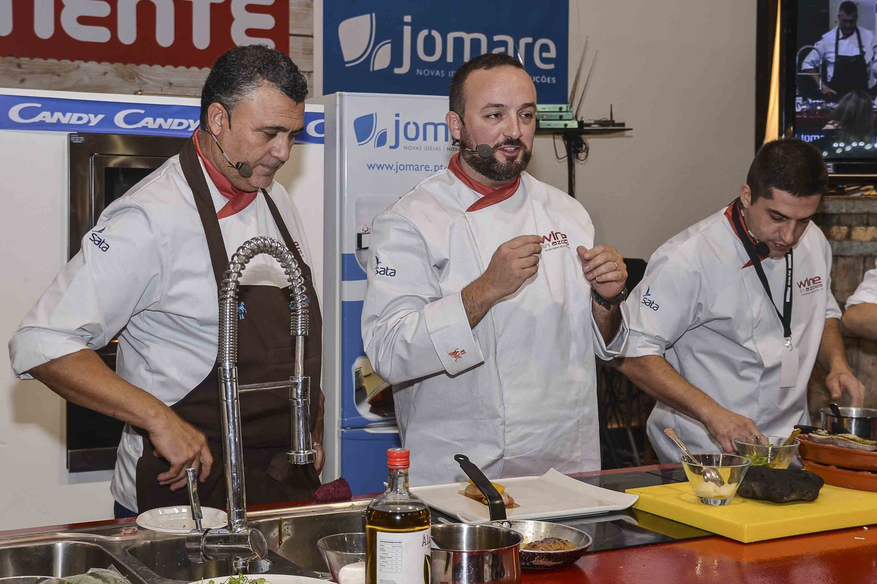 Showcooking Wine in Azores 2015
